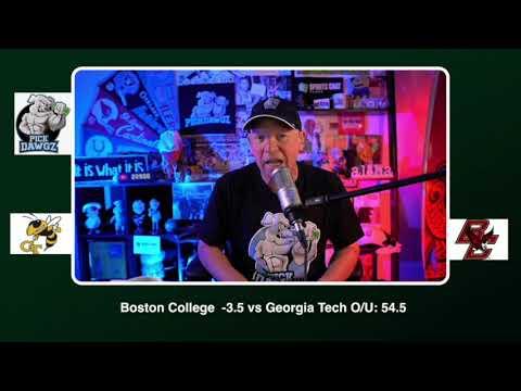 Boston College vs Georgia Tech Free College Football Picks and Prediction CFB Tips Saturday 10/24/20 (skip to 40s)