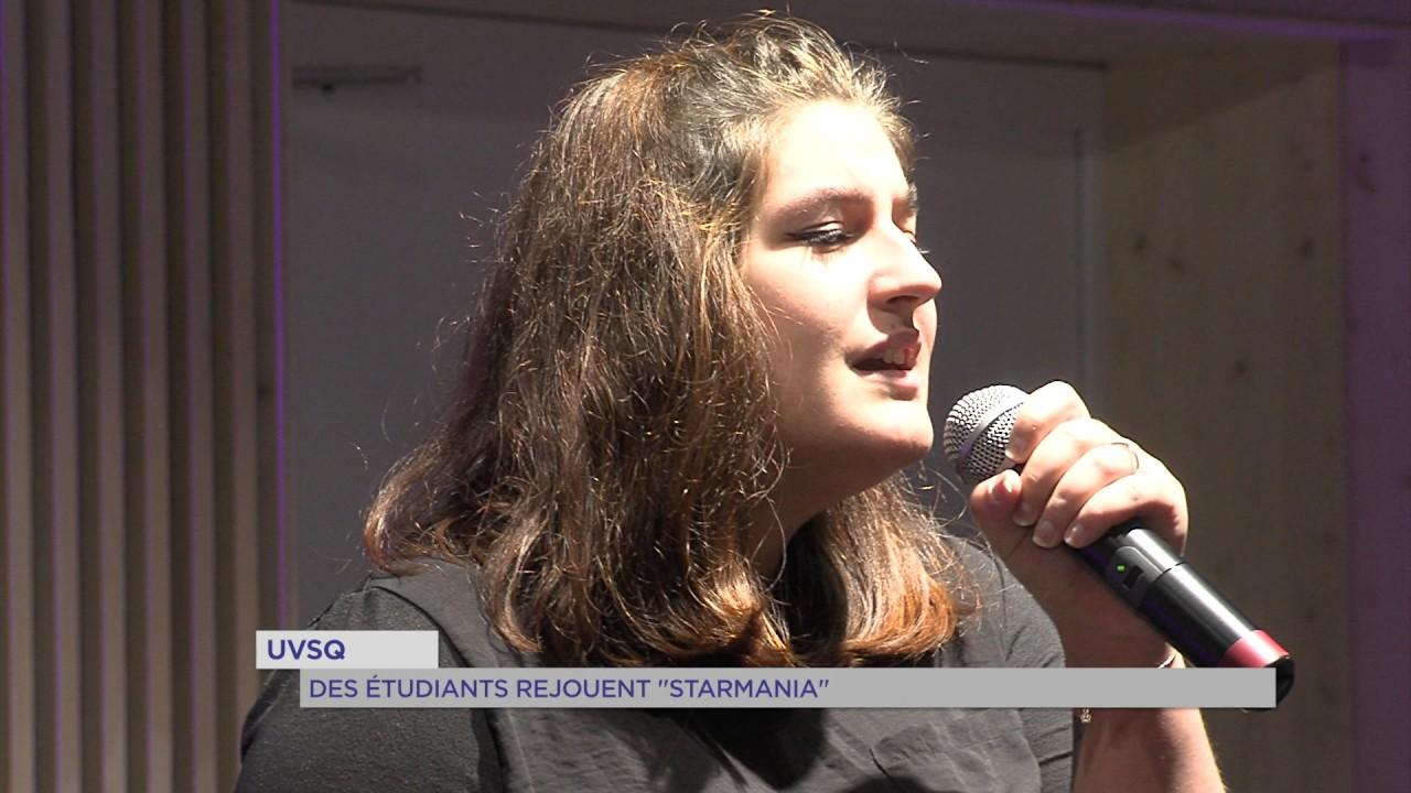 """UVSQ : des étudiants rejouent """"Starmania"""""""