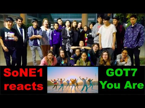 GOT7 (갓세븐) - You Are M/V Reaction by SoNE1