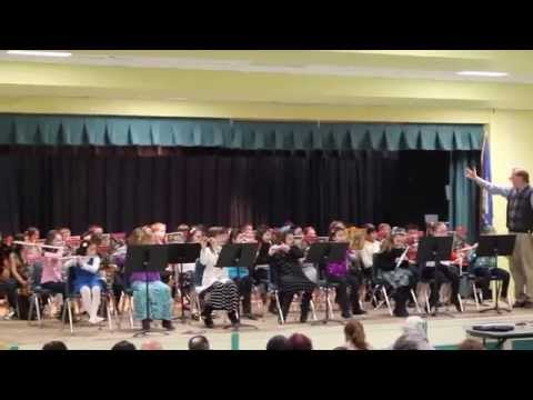 Pumpkin Delight elementary school 4th Grade Band Concert