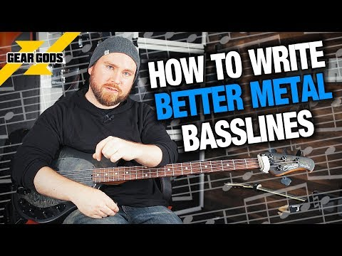 How To Write BETTER Metal Basslines! | Trey's Theory Corner Ep. 17 | GEAR GODS