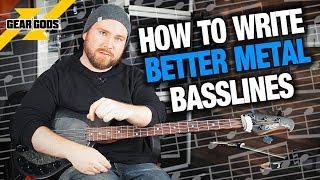How To Write BETTER Metal Basslines! | Trey's Theory Corner Ep. 17 | GEAR GODS