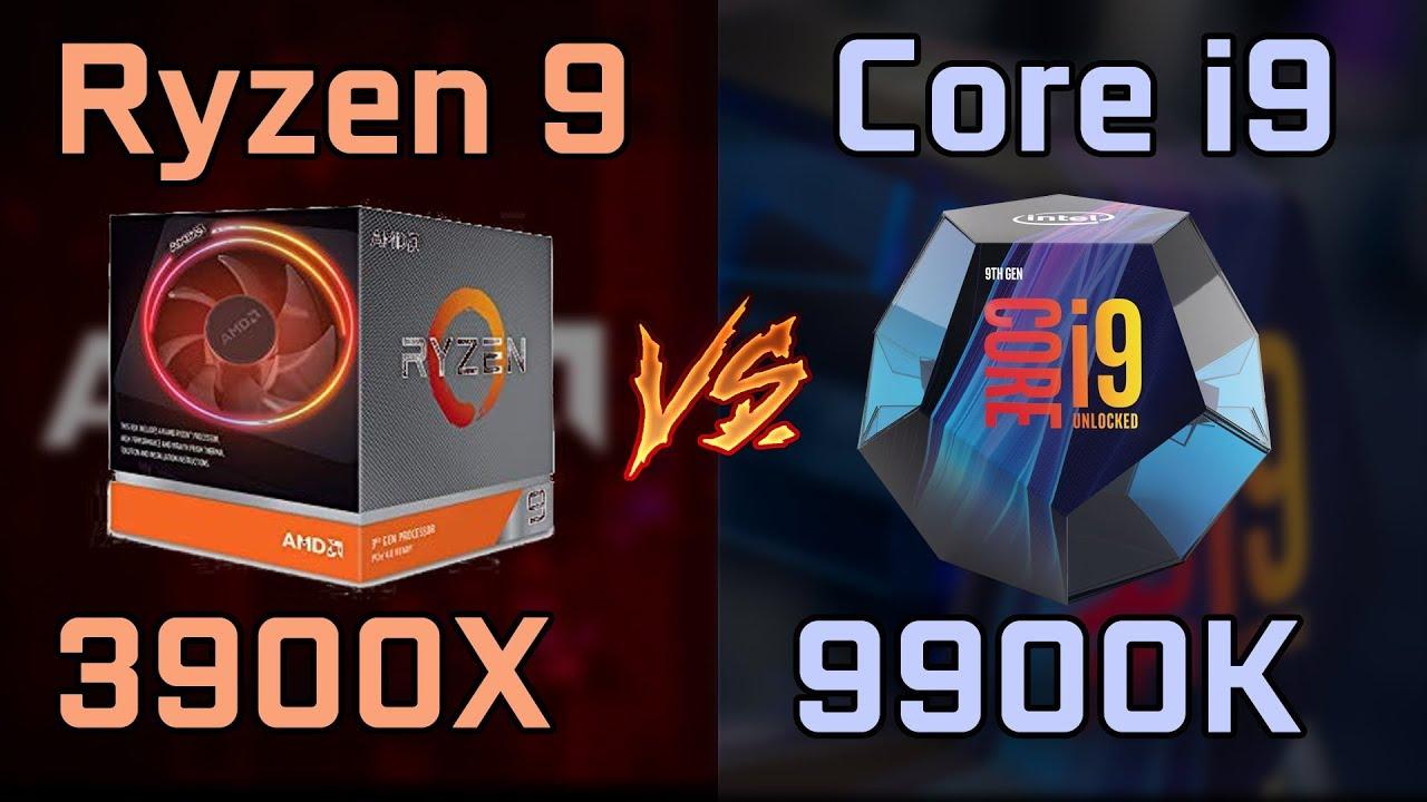 Ryzen 9 3900X vs Core i9-9900K vs i5-9600K New Leaked Benchmarks