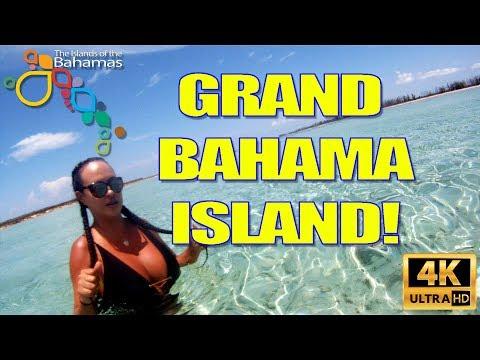 Old Bahama Bay & Balearia Ferry Grand Bahama Island 2018 In 4K!