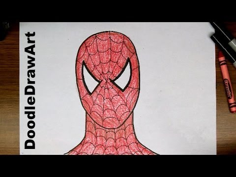 Drawing How To Draw Spider Man Step By Step Easy Drawing Tutorial