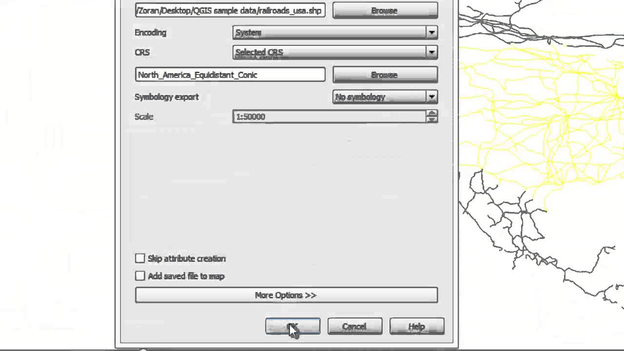 QGIS in under 10 minutes: 10 - Calculating line lengths and statistics