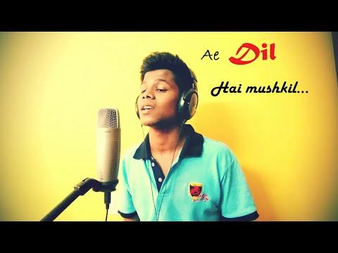 Ae Dil Hai Mushkil | Arijit Singh | Karaoke Cover | Mazhar | Latest songs 2016 thumbnail