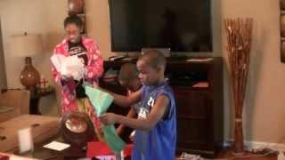 WWE Kids Christmas surprise.  Very funny video!