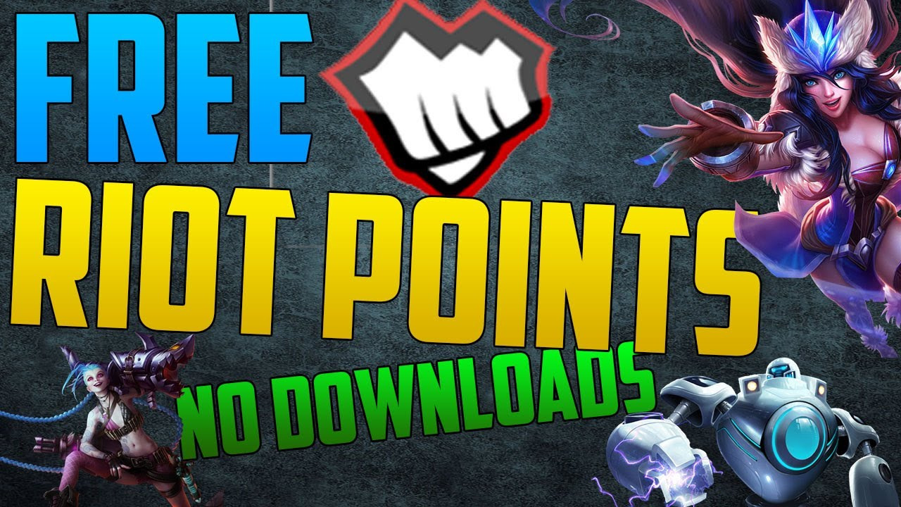 league of legends how to get free rp