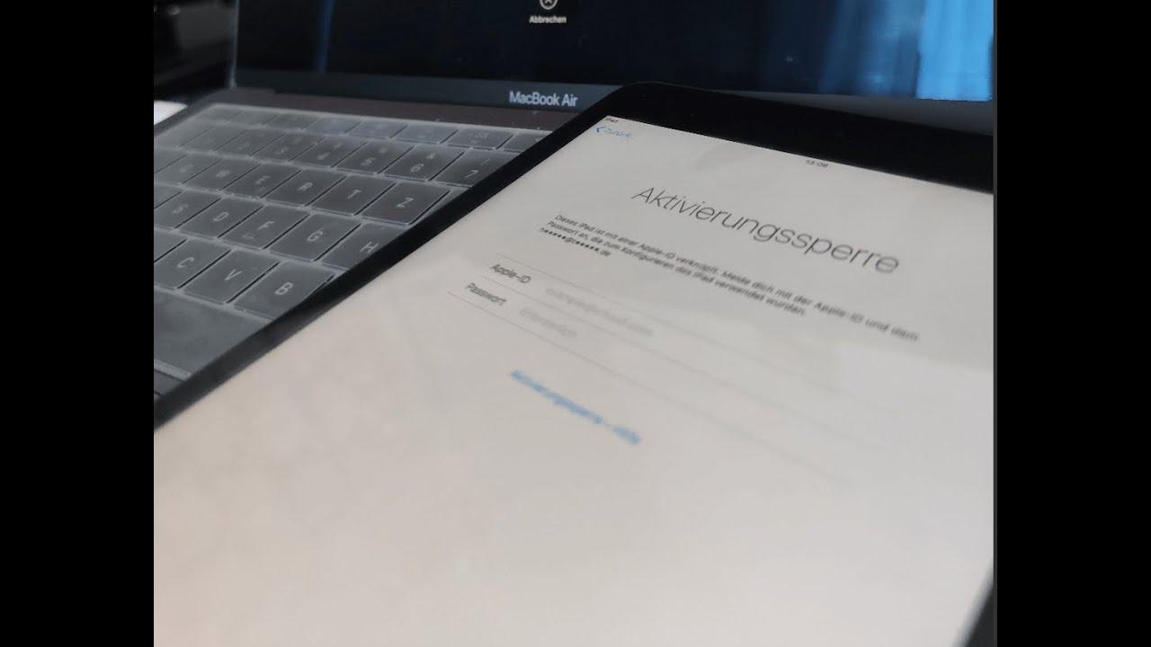Apple-ID Aktivierungssperre mit iCloud ByPass umgehen