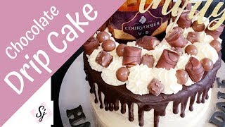 Drip Cake!! With Chocolate & Brandy