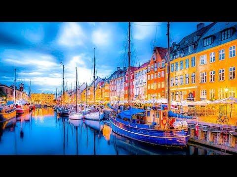 A Walk Up Nyhavn, Copenhagen, Denmark