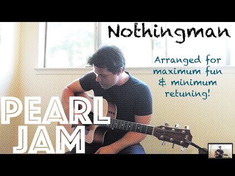 Guitar Lesson: How To Play Nothingman By Pearl Jam! (My Own Special Way)
