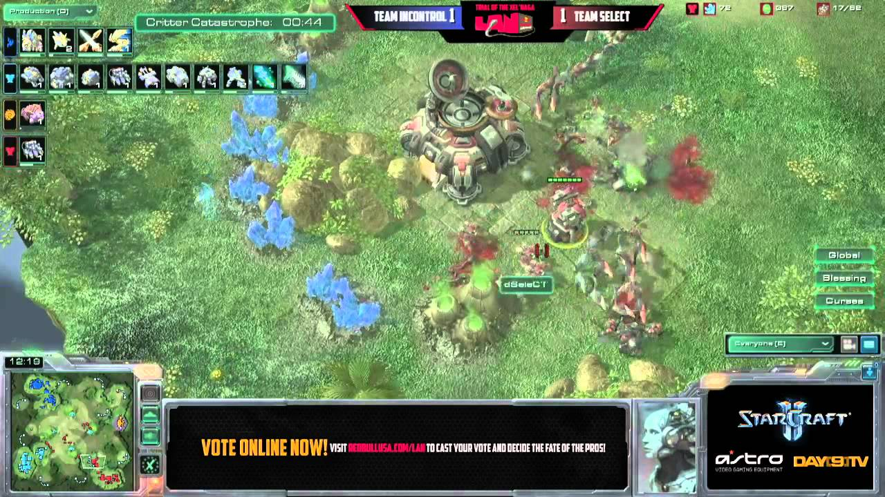 Team iNcontrol vs Team SeleCT G3 Red Bull Seattle Round of 8 Match C