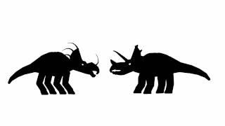 styracosaurus and triceratops horridus stks