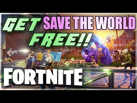 FORTNITE GLITCHES - How To Get SAVE THE WORLD FREE! Best Fortnite Glitch (Fortnite Glitches)