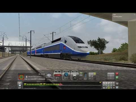 Marseille to Avignon in TGV | Train Simulator
