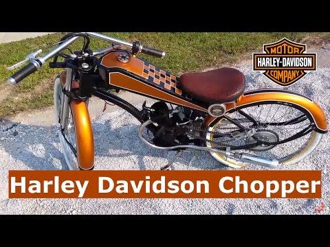 Motorized Bicycle Harley Davidson Chopper Conversion