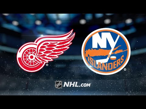Nelson caps hat trick in OT as Isles beat Wings, 7-6