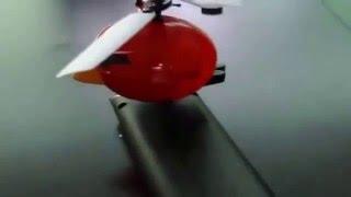 Летающий Angry Birds(Летающая игрушка Angry Birds с лопастями создана по принципу вертолета. В птичке встроен сенсорный датчик, котор..., 2014-12-24T18:33:23.000Z)