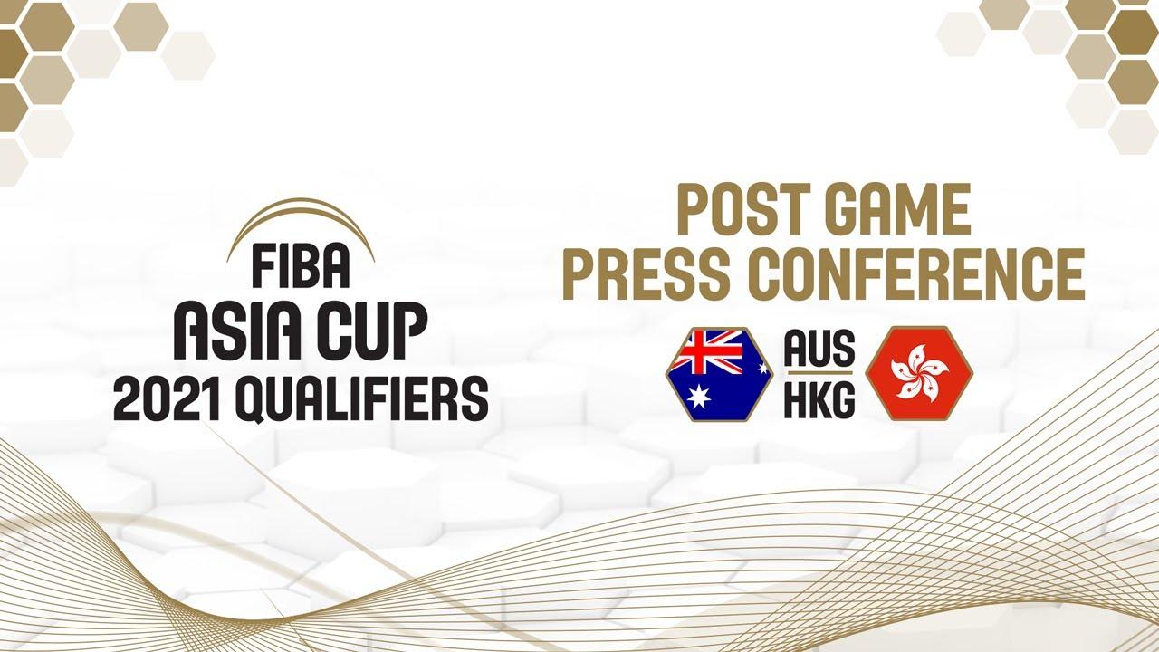 Australia v Hong Kong - Press Conference