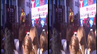 Exhaustive Vidcon 2014 008:Grant Landis - We Are Brave, Chasing Cars (pt) 3D