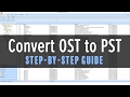 How To Convert OST To PST Tutorial - Stellar Phoenix OST to PST