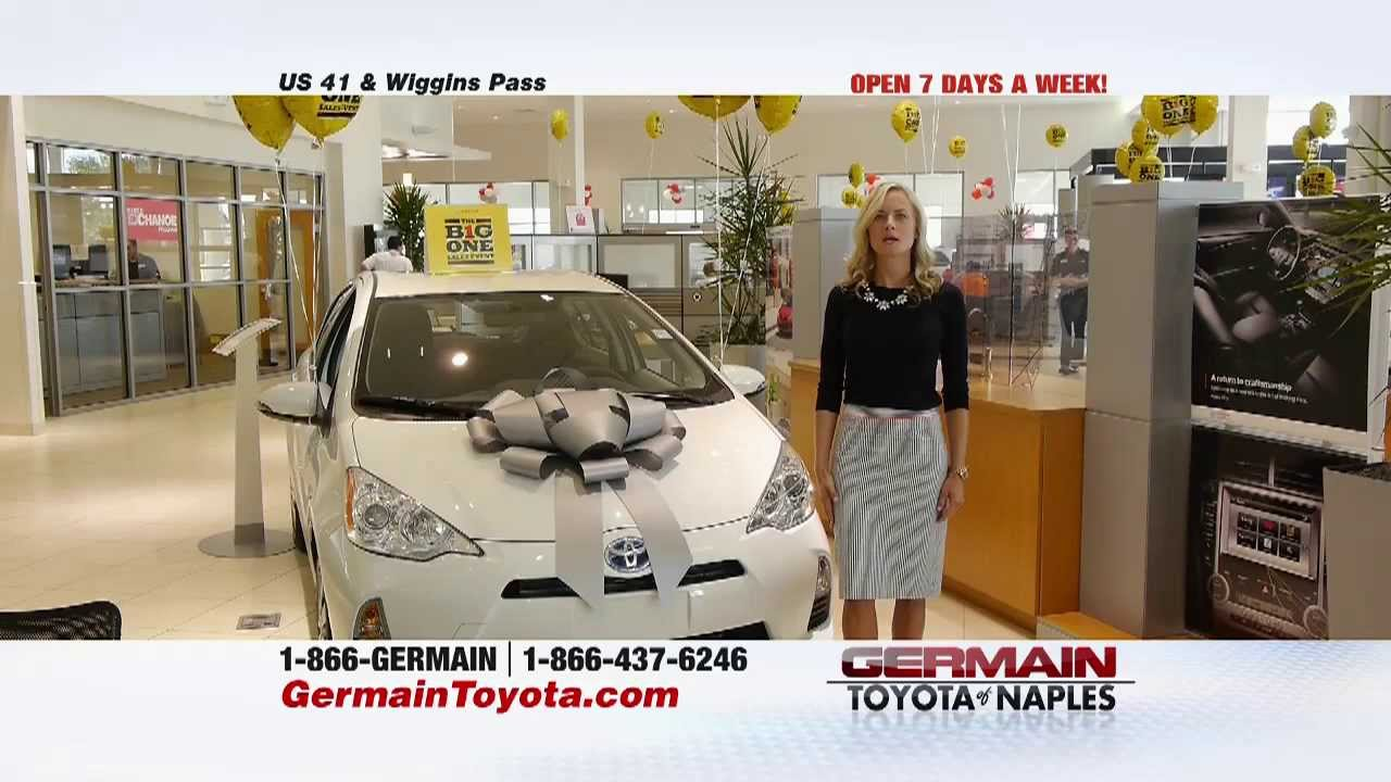 Germain Toyota Of Naples Big One More Youtube