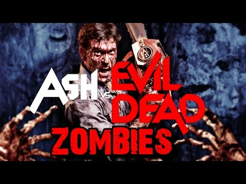 ASH Versus The EVIL DEAD ZOMBIES ★ Call of Duty Custom Zombies Maps/Mods Gameplay