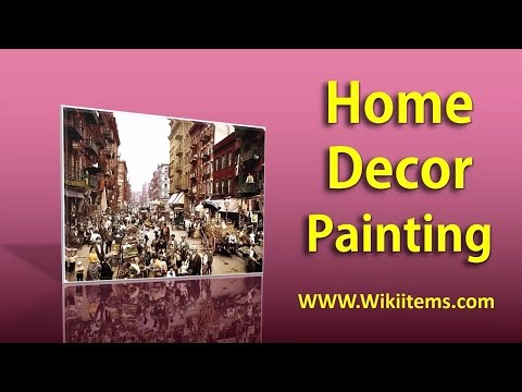 Living Room Decorating Ideas , Home Decorating with wall painting 9