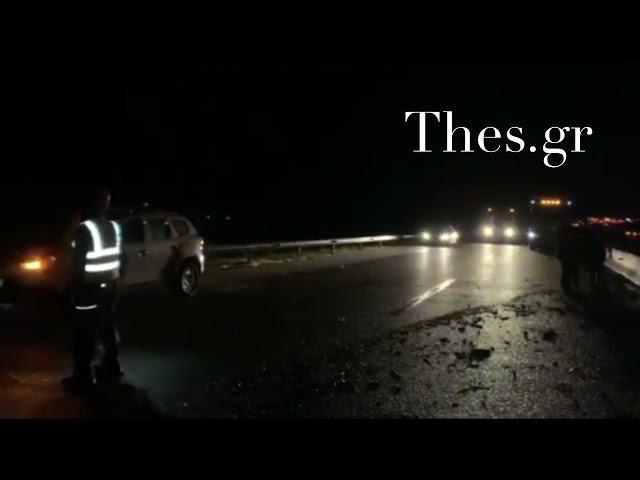 Κακοκαιρία Μπάλλος : Έκλεισε η Εγνατία Οδός στη Ρεντίνα