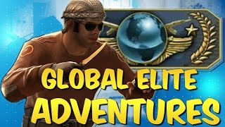 CS:GO Global Elite Adventures & Funny Moments #4