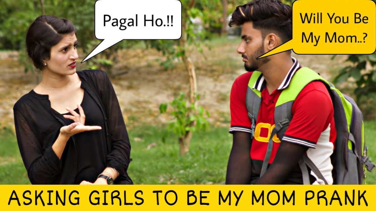 Asking Girls To Be My MOM Prank @That Was Crazy