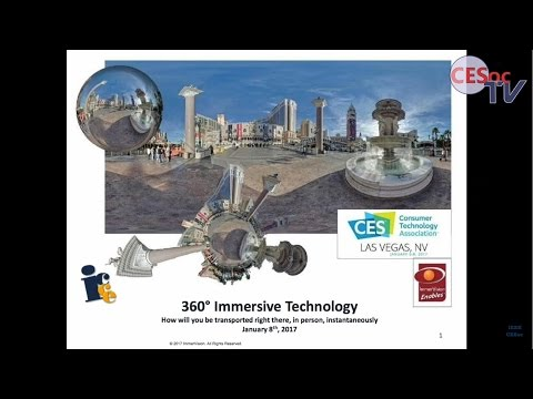 360° Immersive technology, how will you be transported right there, in person, instantaneously