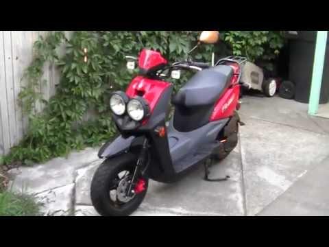 2013 Yamaha Zuma 50cc Review