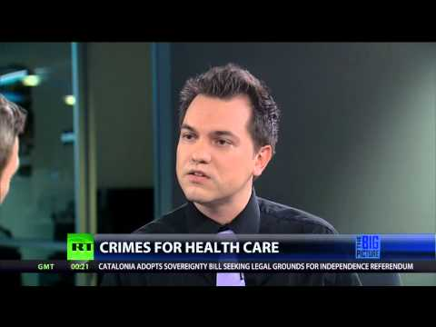 Thom Hartmann Explodes at Libertarian over Life-Saving Healthcare
