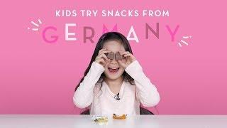 Дети Пробуют Еду из Германии!