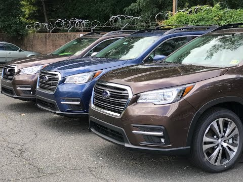Good, Better, & Best: 2019 Subaru Ascent Review: 3 Trim Comparison!
