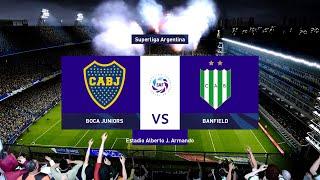 PES 2020 - Liga Master #91 - Boca Juniors vs. Banfield - Fecha 1 - Superliga Argentina