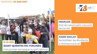 7/8 Le Journal. Edition du mercredi 23 juin 2022