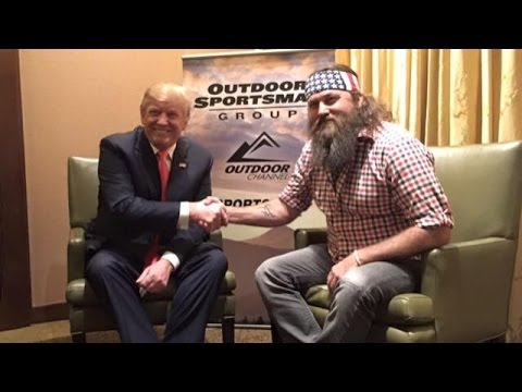 Willie Robertson Of 'Duck Dynasty' Endorses Donald Trump For President - Newsy