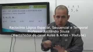 Raciocínio Lógico Espacial, Sequencial e Temporal - Aula 1 (Áudio consertado)