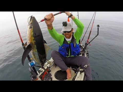 Kayak Fishing Panama Ep. 1: Yellowfin Tuna