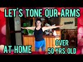ARM WORKOUT for mature women at home /NO equipment ❤sexy grandma Counting