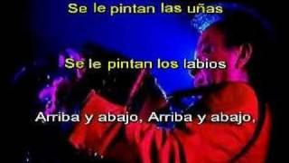 Aniceto Molina - El Peluquero Salvatrucha (karaoke)