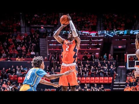 Illinois Basketball Highlights vs. Southern 11/10/17