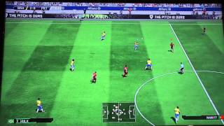 PES 2015 Gamescom Gameplay #02 - BRASILIEN vs PORTUGAL Full Match - 60 FPS [HD] - PS4/XboxOne/PC