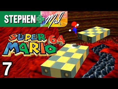 Super Mario 64 #7 • Volcano Tour Guide