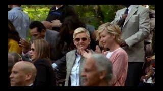 Ellen DeGeneres and Portia DeRossi attended Oprah's Legends Gospel Brunch| #Selma50
