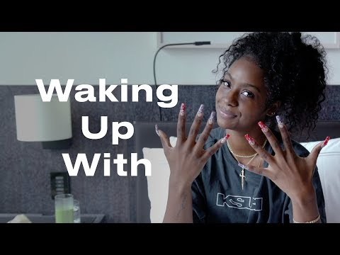 This Beauty Routine is the Secret to Justine Skye's Perfect Skin | Waking Up With | ELLE